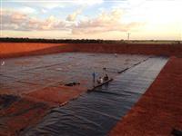 Material e Mãode obra : fornecimento  e instalação de Geomembrana de Pead para todo Brasil