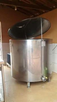 Resfriador 1000L Kepler Weber Inox