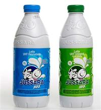 embalagens  Pet  de leite jussara cor branca