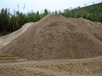 Areia para assentamento rio jau