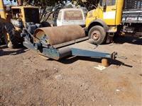 Rolo Compactador Rebocavel por Trator