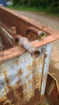 Tanque de fosfato e lavagem