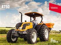 Trator Valtra/Valmet A 750 4x4 ano 17
