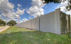 Muros, Gradis e pavilhões de concreto pré-moldados