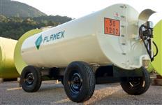 Reboque Tanque de Combustível