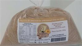 Paçoca de amendoim artesanal