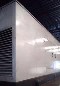 Gerador  450 kva em container silenciado.