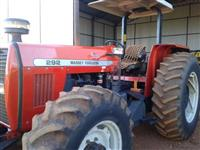 Trator Massey Ferguson 292 Advanced 4x2 ano 03