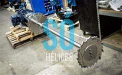 Misturador para fertilizantes e adubos 250mm
