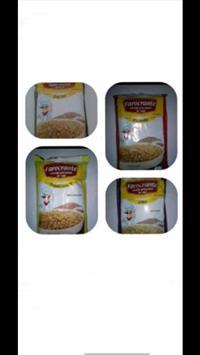Farofa de farinha de mandioca com soja texturada