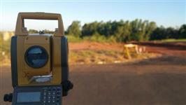 Serviços de Topografia Usual e/ou com drone,  Sondagem em Geral (Percussão e Rotativa)