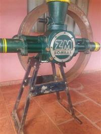 Roda Dágua Usada - Conjunto Completo, Bomba+roda+cavalete    Usado