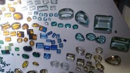 Lote de pedras preciosas