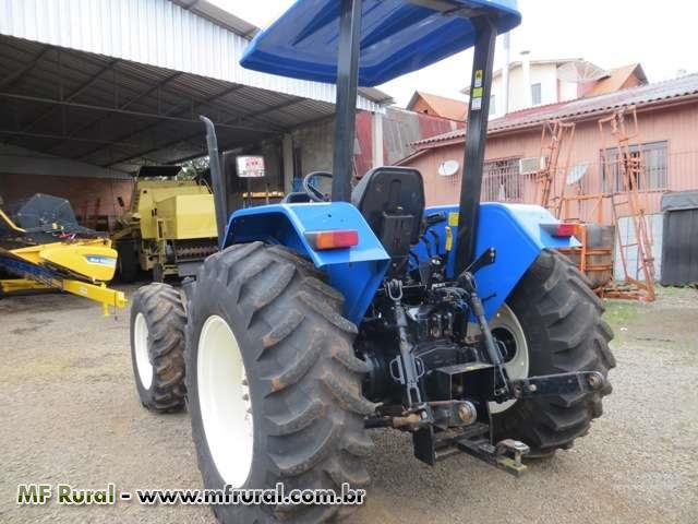 Trator Ford/New Holland TL 75 E 4x4 ano 13