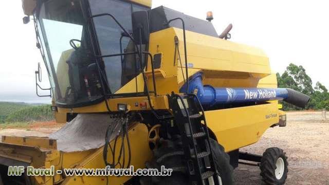Colheitadeira Agrícola, Marca New Holland, Modelo 5070, ano 2012, completa
