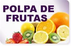 polpa de diversas frutas