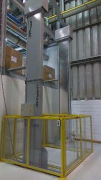 Elevador ideal para a elevação de cargas com ate 2.500 Kg
