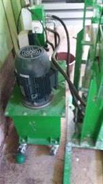 Prensa hidráulica para fabricar paver