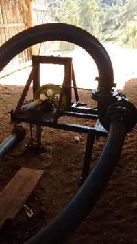 Bomba acoplada a trator refaga n4, para irrigação ou para dejetos de granjas de suinos