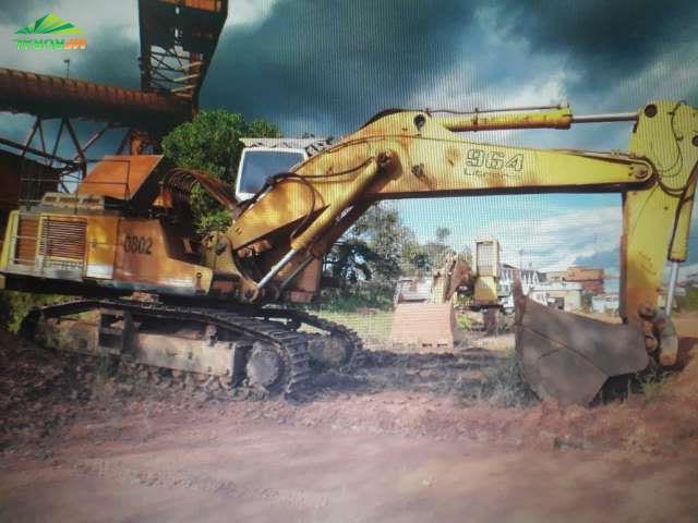 Escavadeira liebherr 964