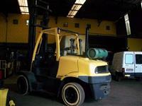 EMPILHADEIRA MARCA HYSTER MODELO H- 155FT CAPACIDADE 7.500 KGS