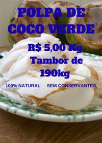 Polpa de Coco (Coco Verde)