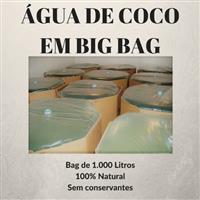 Água de Coco em Big Bag