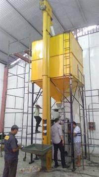 Máquina empacotadeira grãos e farinha
