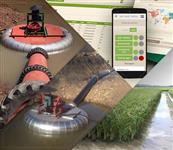 Irrigação de Arroz pelo celular