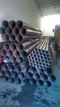 Lote de tubos novos de aço carbono 8 e 3 polegadas