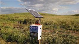 Eletrificador Solar Cerca Rural 100.000 Turbo