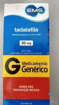 TADALAFILA 20MG CPR