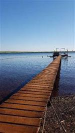 Rancho formado as margens Rio Grande água comprida MG