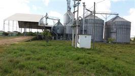 Área para produtores rurais indústrias de graos