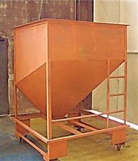 Silo movél descarregamento fracionamento de grãos e plastico