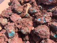 Vendo minerio de cobre