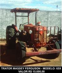 Trator Massey Ferguson 65 X 4x2 ano 00