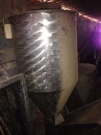 Misturador de Ração de aço inox