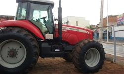 Trator Massey Ferguson 7390 4x4 ano 10