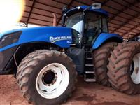 Trator New Holland T8.325 4x4 ano 12