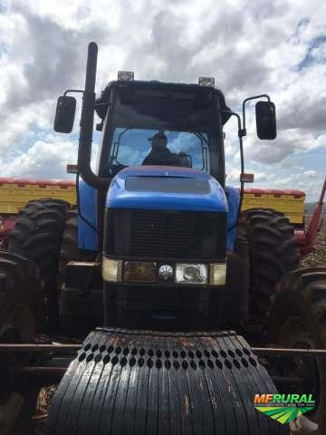 Trator New Holland TM 7040 4x4 ano 10