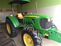 Trator John Deere 5090 4x4 ano 12
