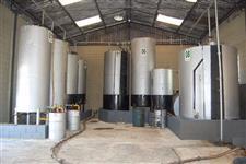 Imóvel com instalações para óleo de soja usado.