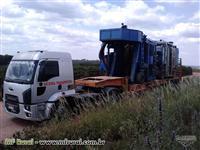 Transporte de carro, trator, maquina leve e pesada