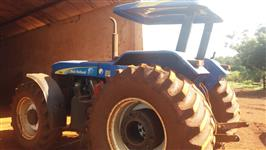 Trator New Holland 7630 4x4 ano 08
