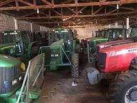 Trator John Deere 6180 4x4 ano 12