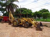 Retro escavadeira Massey Ferguson  86