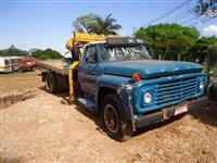 Caminh�o Ford F 6000 munck ano 78