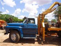 Caminhão Ford F 7000 Munck ano 78