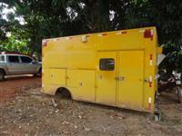 Carroceira Bau Ambulancia